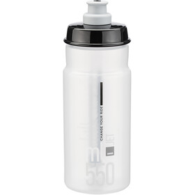 Elite Jet Drinking Bottle 550ml clear/grey logo